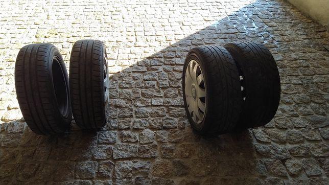 Jantes 15 5*100 com pneus