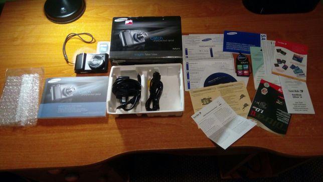 Aparat Fotograficzny Cyfrowy Samsung NV8 Kompletny Zestaw
