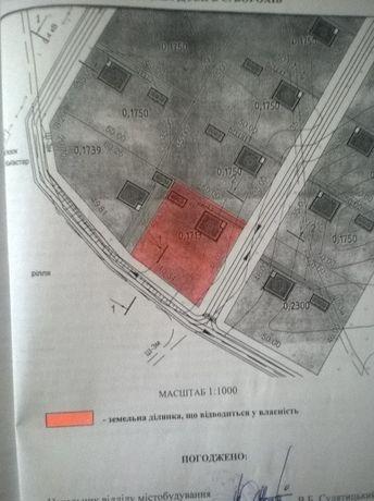 Продам земельну ділянку для індивідуального будівництва в с.Борохів