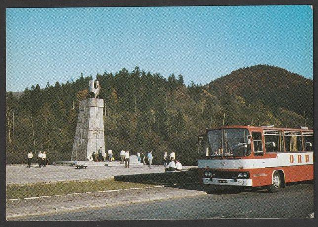 pocztówka - Jabłonki 1986 - pomnik Świerczewskiego - Orbis