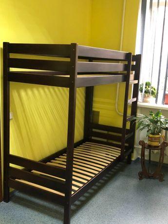 Двухъярусная деревянная кровать Эльдорадо-30 ольха