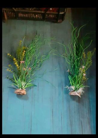 Sztuczne rośliny do terarium lub akwarium