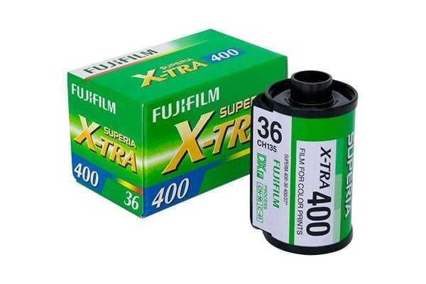 Fujifilm Superia X-tra 400 - 35mm Film - NOVO