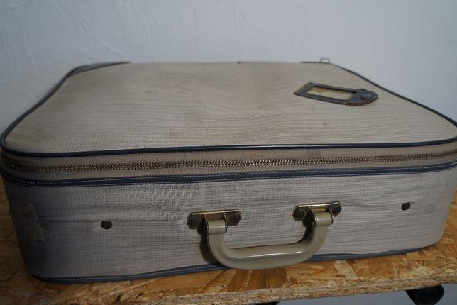 Torba walizka podróżna loft design industrial prl ddr lata 60