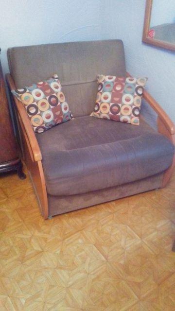 Fotel rozkładany młodzieżowy z funkcją spania