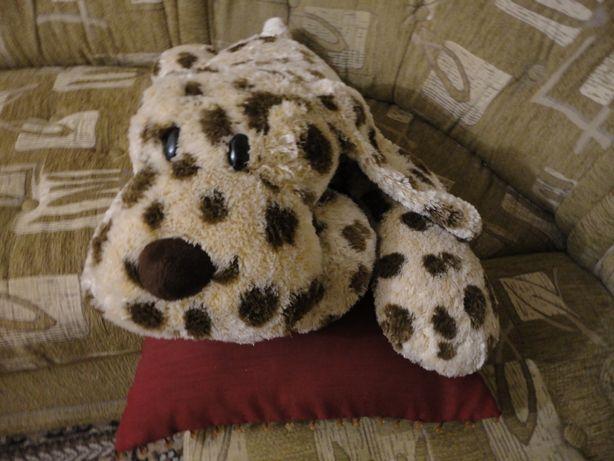 Мягкая игрушка - подушка, большая собака - далматинец. 70 cм