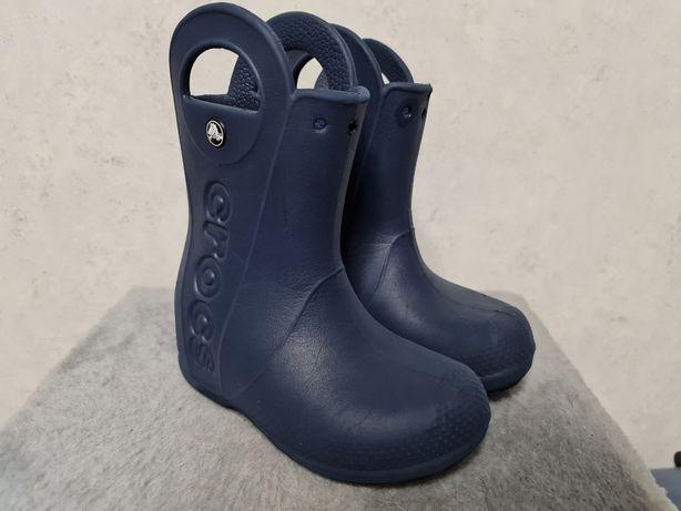Crocs гумові чоботи резинові Handle It Rain Boot сапоги резиновые C11