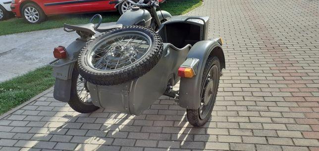 Wózek boczny ural