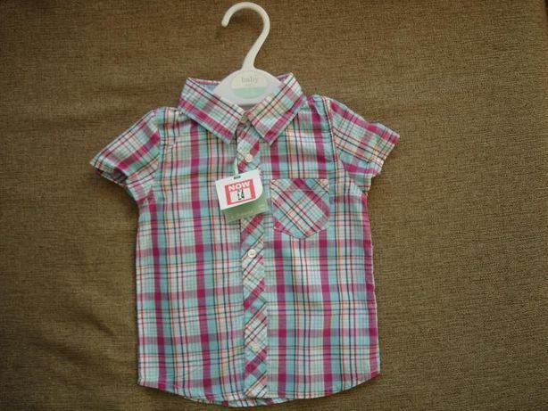 Новая рубашка на мальчика