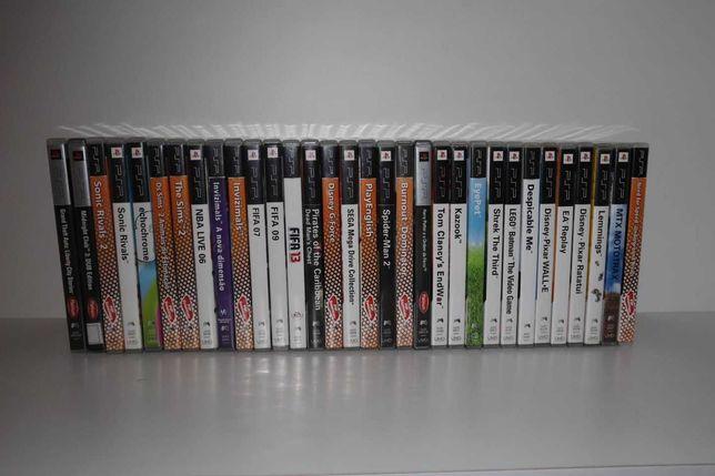 Pack de 29 jogos PSP
