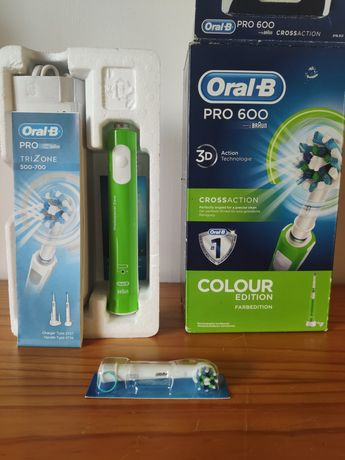 Oral-B pro 600 escova de dentes elétrica