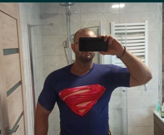 rashguard Supermen pit bull