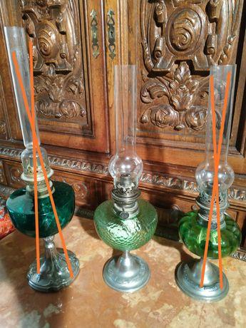 Lampa naftowa antyk