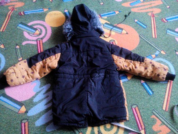 Куртка весна-осень 4-5 лет