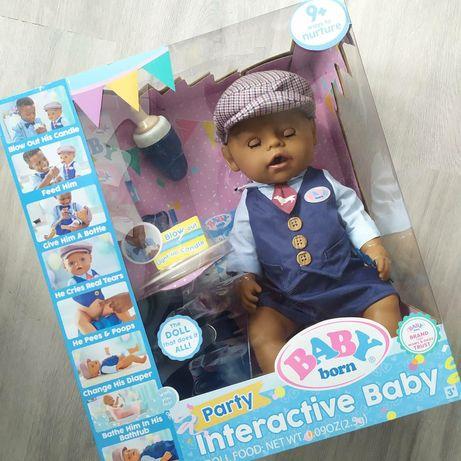 Кукла Baby Born Boy Doll Party Беби Борн мальчик