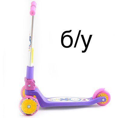 Продам б/у Самокат Explore Tredia Sport Трехколесный Фиолетовый