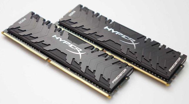 Оперативная память HyperX Predator 16 GB (2x8GB) DDR4 3200 MHz