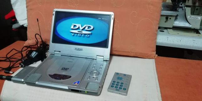 Dvd portátil com tuner