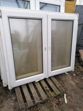 Okno PCV 147 x 125 używane 150 x 130