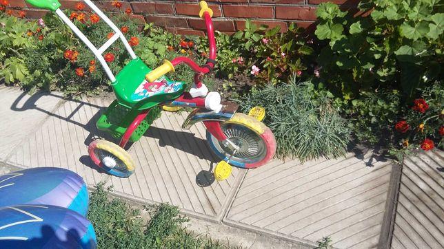 Велосипед детский. Трехколесный. Б.у.