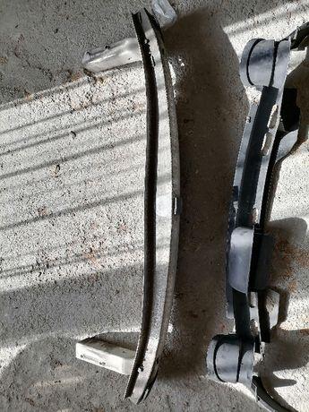 Audi S6 C5 Dokładka pod zderzak zderzaka belka tył tylna tylnia RS6 A6