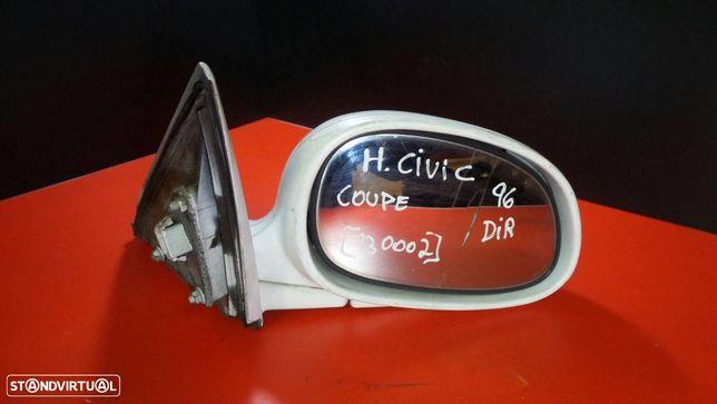 Espelho Retrovisor Direito Honda Civic Vi Coupé (Ej, Em1)