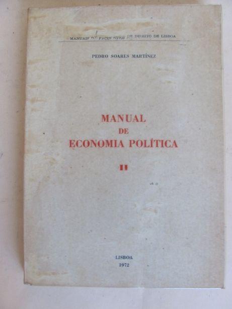 Manual de Economia Política de Pedro Soares Martínez