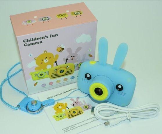 Фотоаппарат детский 2 камеры селфи и основная. Фотик для ребенка.