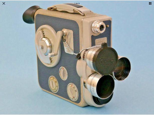 EUMIG C3M câmera filmar 8mm - 1950