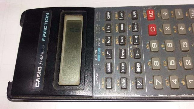 Calculadora Casio FX-82super Fraction