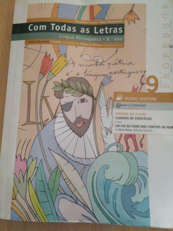 Manual do professor Português 9 - Com todas as letras