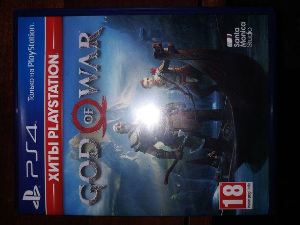 Диск God Of War для PlayStation 4