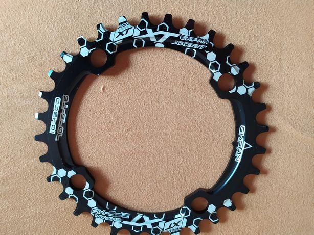 Prato pedaleiro BTT 104 bcd. 30T, 32T, 34T, 36T