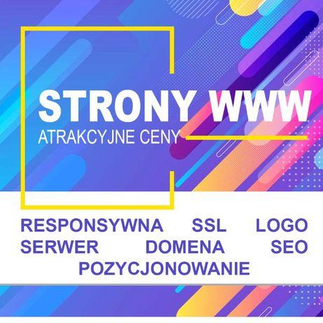 Strony i sklepy internetowe Atrakcyjna strona i sklep internetowy www