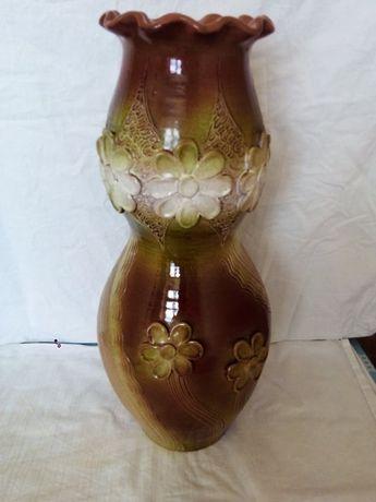 Большая керамическая ваза времён СССР