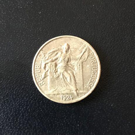 Moeda 50 Centavos de 1924