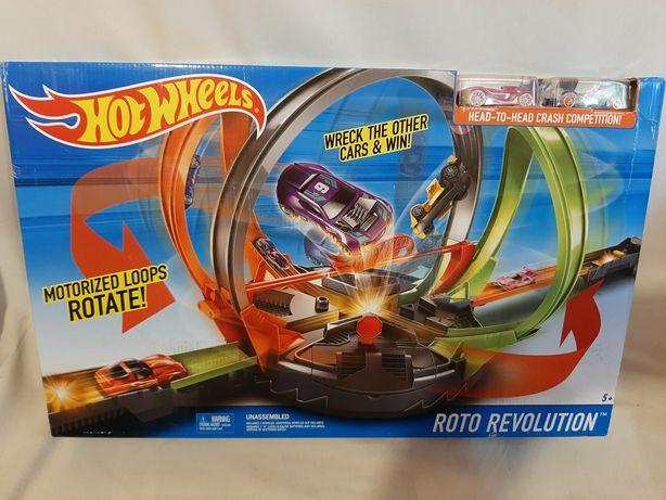 Трек Революционные гонки Hot Wheels Roto Revolution Track Set
