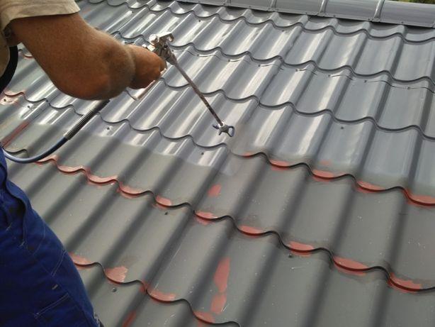 Malowanie dachów, czyszczenie i mycie kostki brukowej