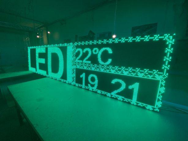 Бегущая строка Светодиодный экран LED вывеска Вивіска Табло