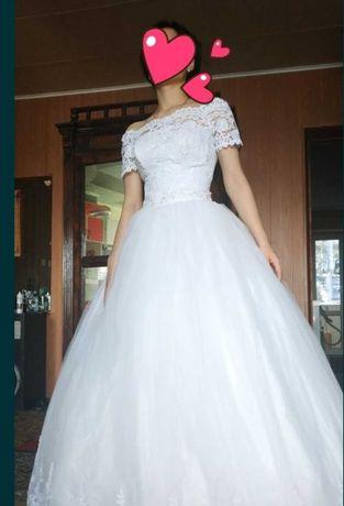 Свадебное платье. Можно обмен.