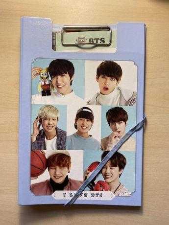 BTS Caderno de anotações (Da Coréia)