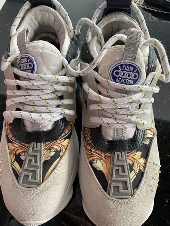 Sneakersy VERSACE CHAIN reaction