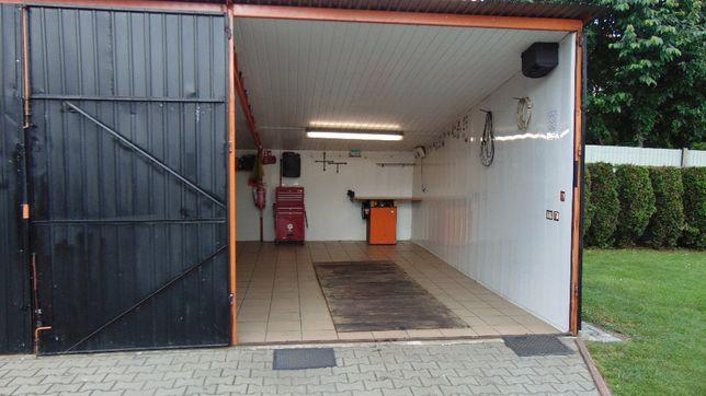 Warsztat samoobsługowy na godziny garaż z kanałem dla majsterkowicza