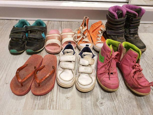 Buty , Buciki Dziecięce , Nike Dla Dziewczynki , klapki , buty zimowe