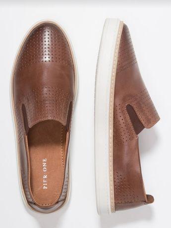 Buty półbuty wsuwane