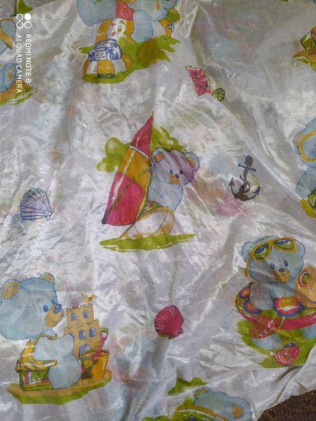 Тюль Штора детская с рисунком
