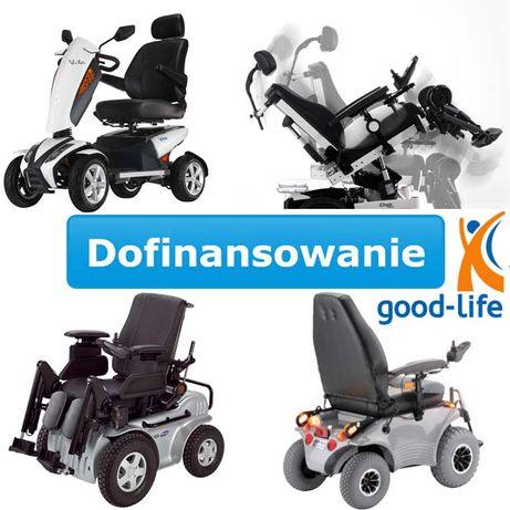 Wózek inwalidzki elekryczny - DOFINANSOWANIE - online składanie