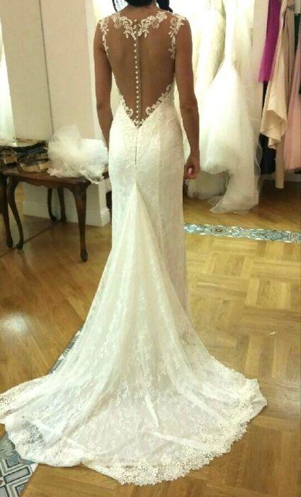 Suknia ślubna koronkowa MADONNA Lubin - image 1