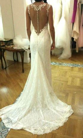 Suknia ślubna koronkowa MADONNA