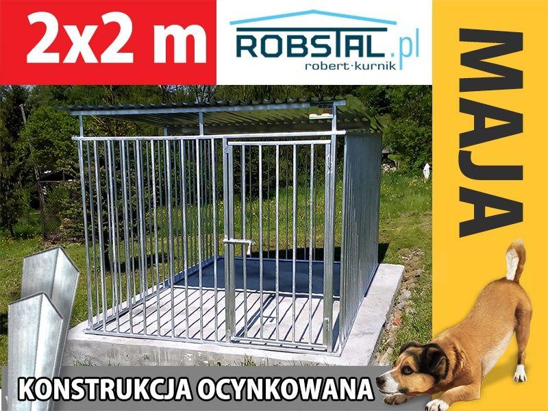 Kojec dla psa boks klatka MAJA 2x2 kojce dla psów solidne i tanie Olecko - image 1